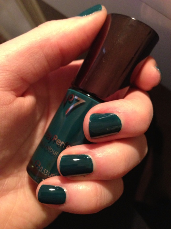 Boots No.7 Perfect Nail Colour - Totally Teal